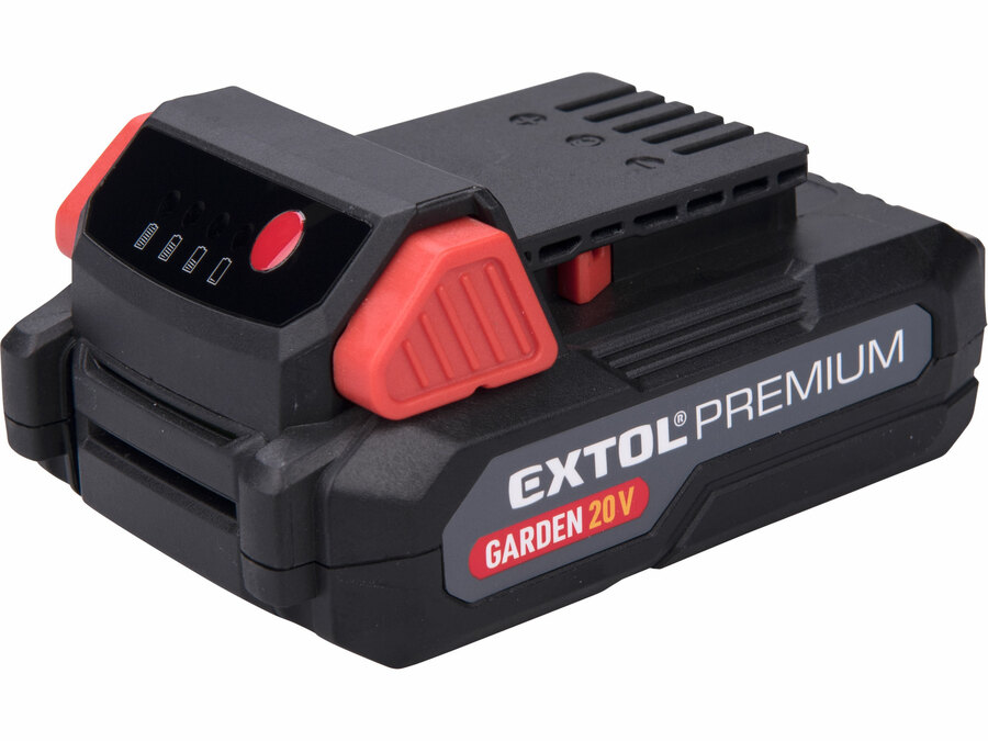 Baterie akumulátorová 20V Li-ion, 2000mAh EXTOL PREMIUM 8895780