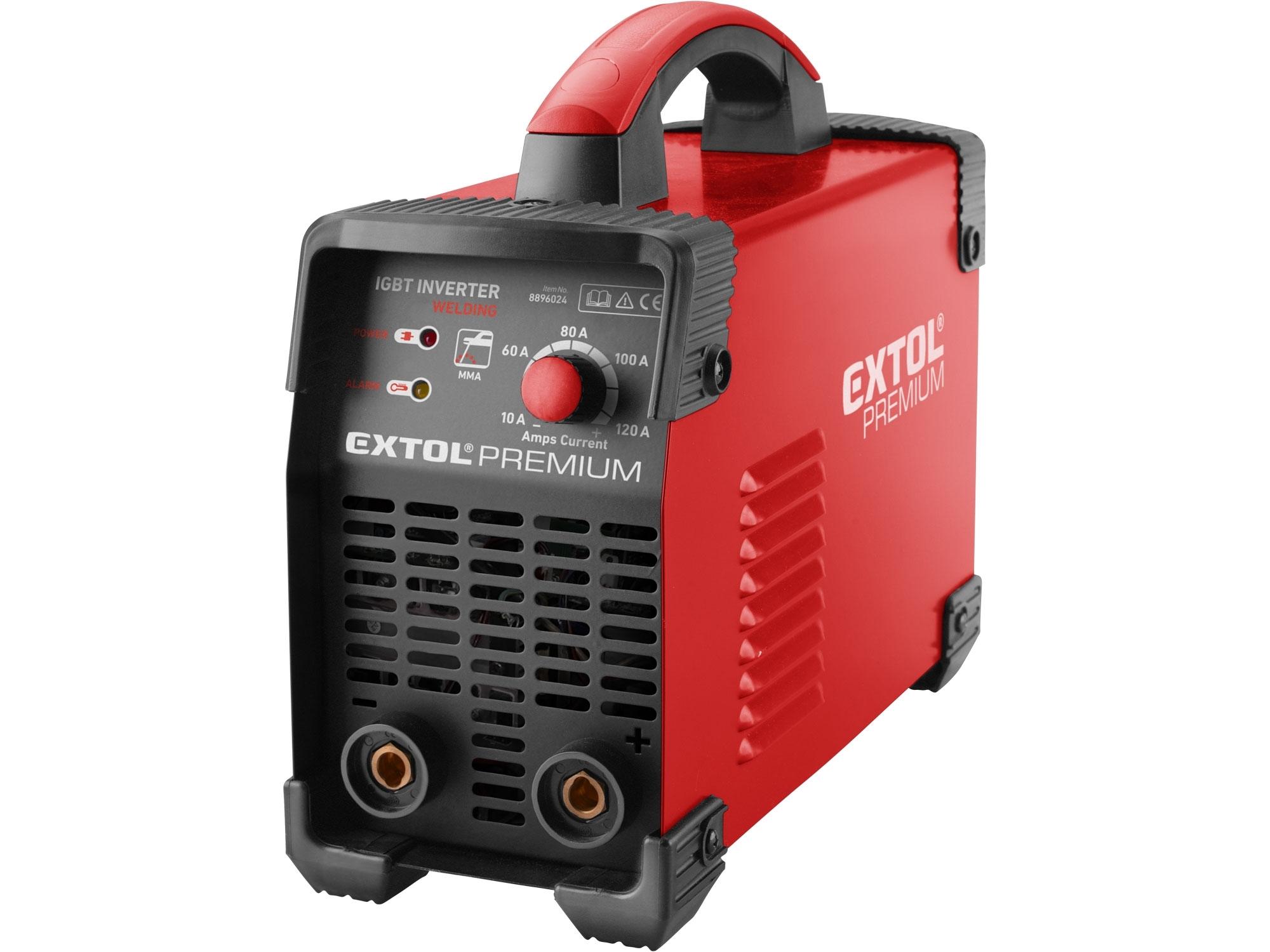 Invertor svařovací 120A EXTOL PREMIUM 8896024