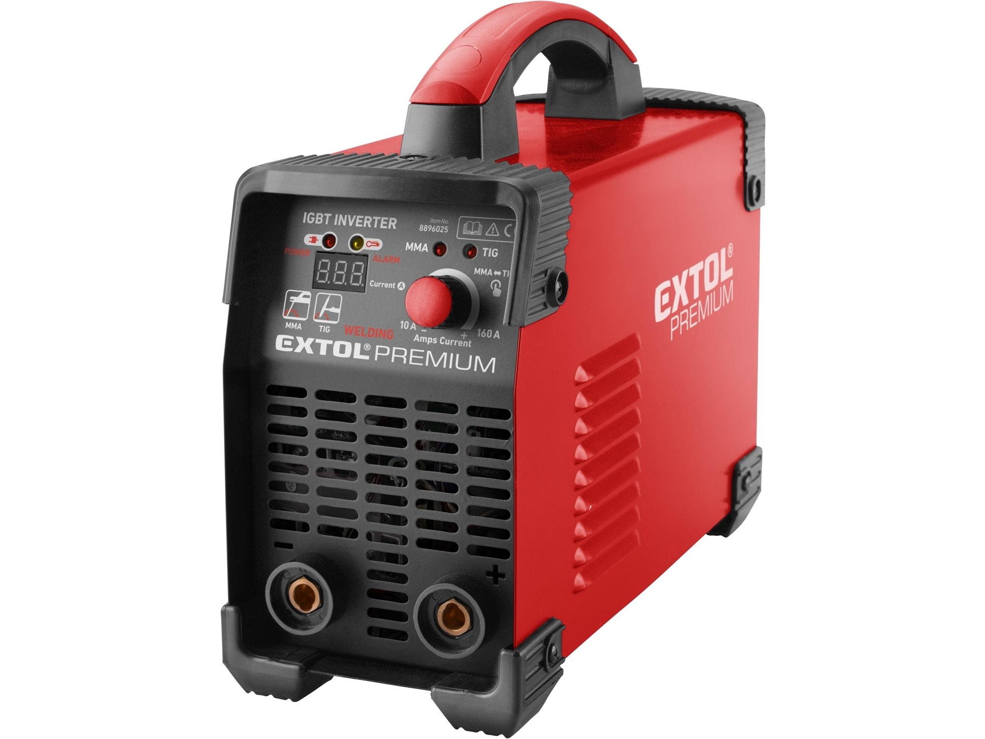 Invertor svařovací 160A EXTOL PREMIUM 8896025
