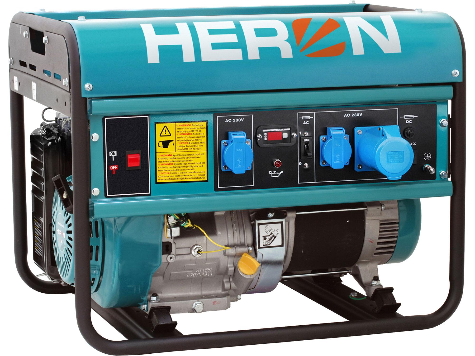 Elektrocentrála benzínová 15HP/7kW EGM 68 AVR-1 HERON 8896119