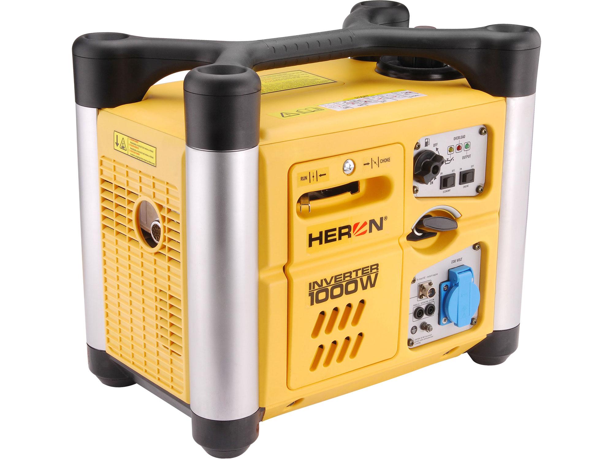 Elektrocentrála digitální invertorová 2HP/1kW DGI 10 SP HERON 8896216