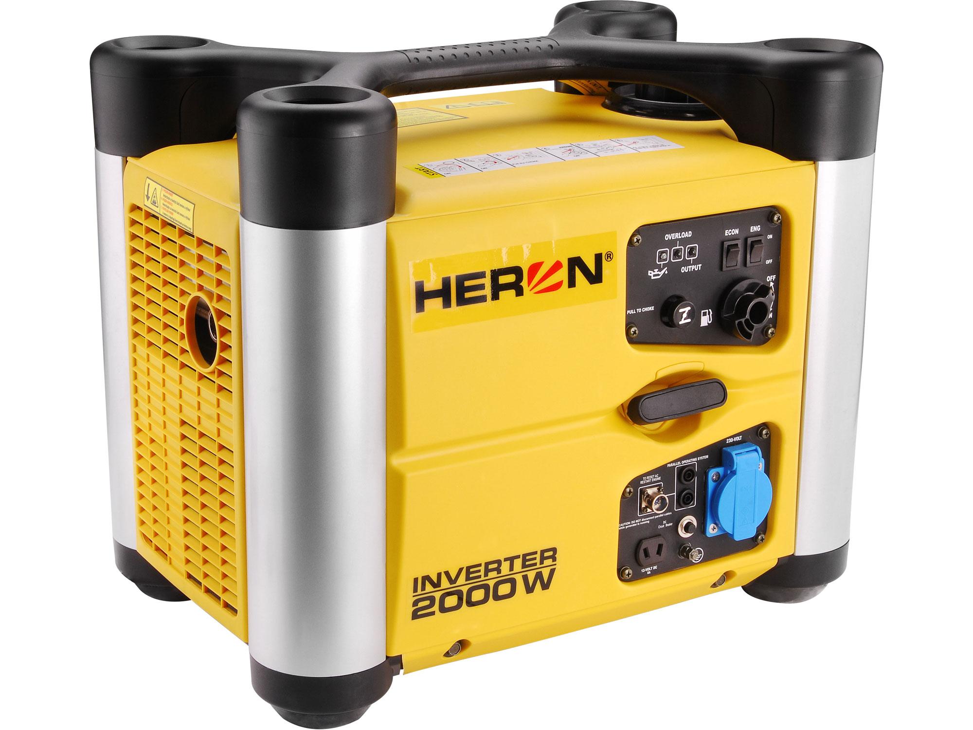 Elektrocentrála digitální invertorová 3HP/2kW DGI 20 SP HERON 8896217