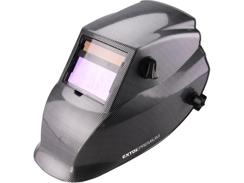 Kukla svářecí samostmívací, karbonová WH 800