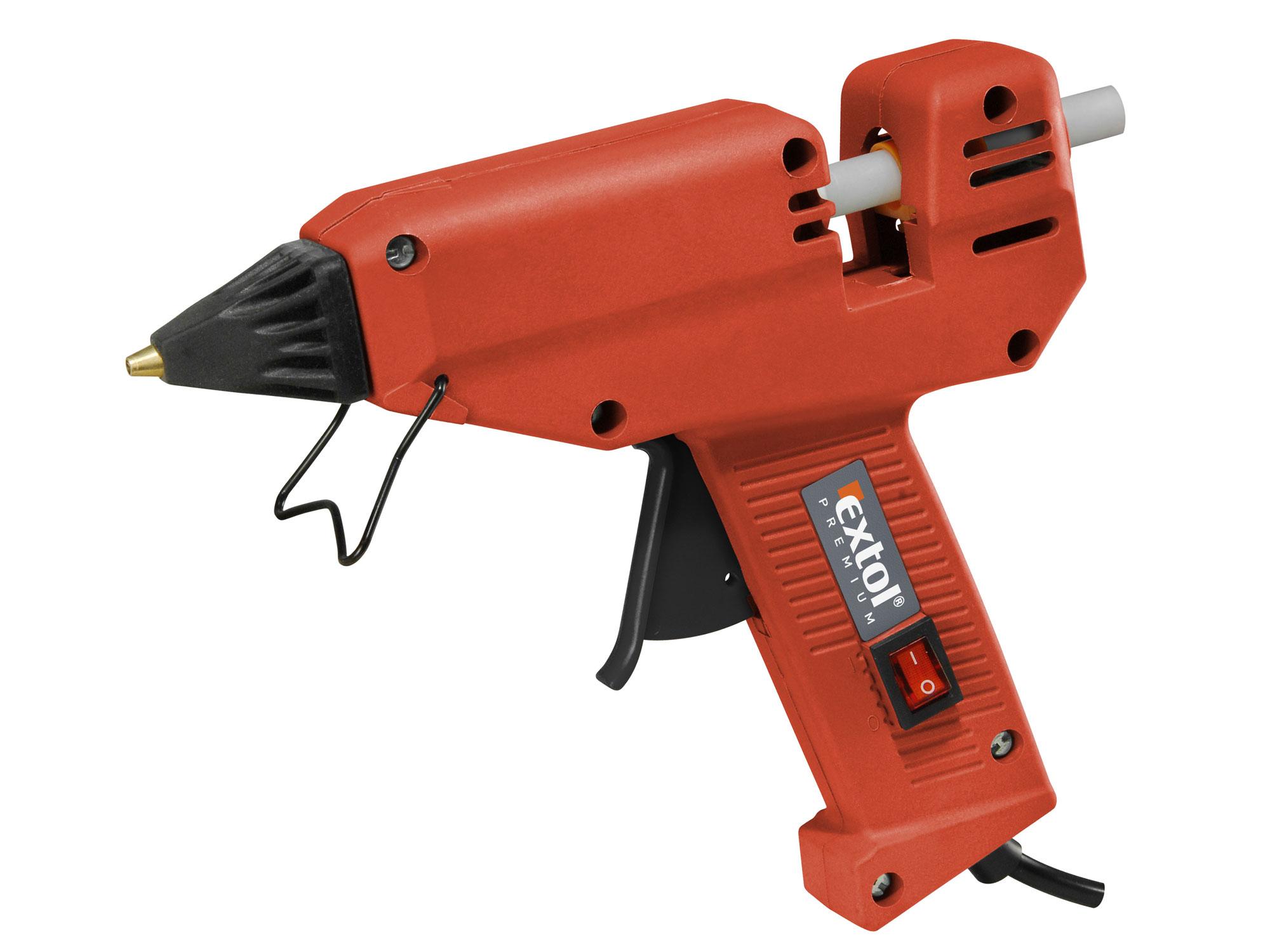 Pistole tavná lepící, 180W GG 180 E EXTOL PREMIUM 8899002