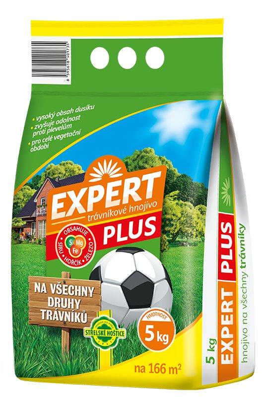 Trávníkové hnojivo EXPERT PLUS - 5 kg Forestina