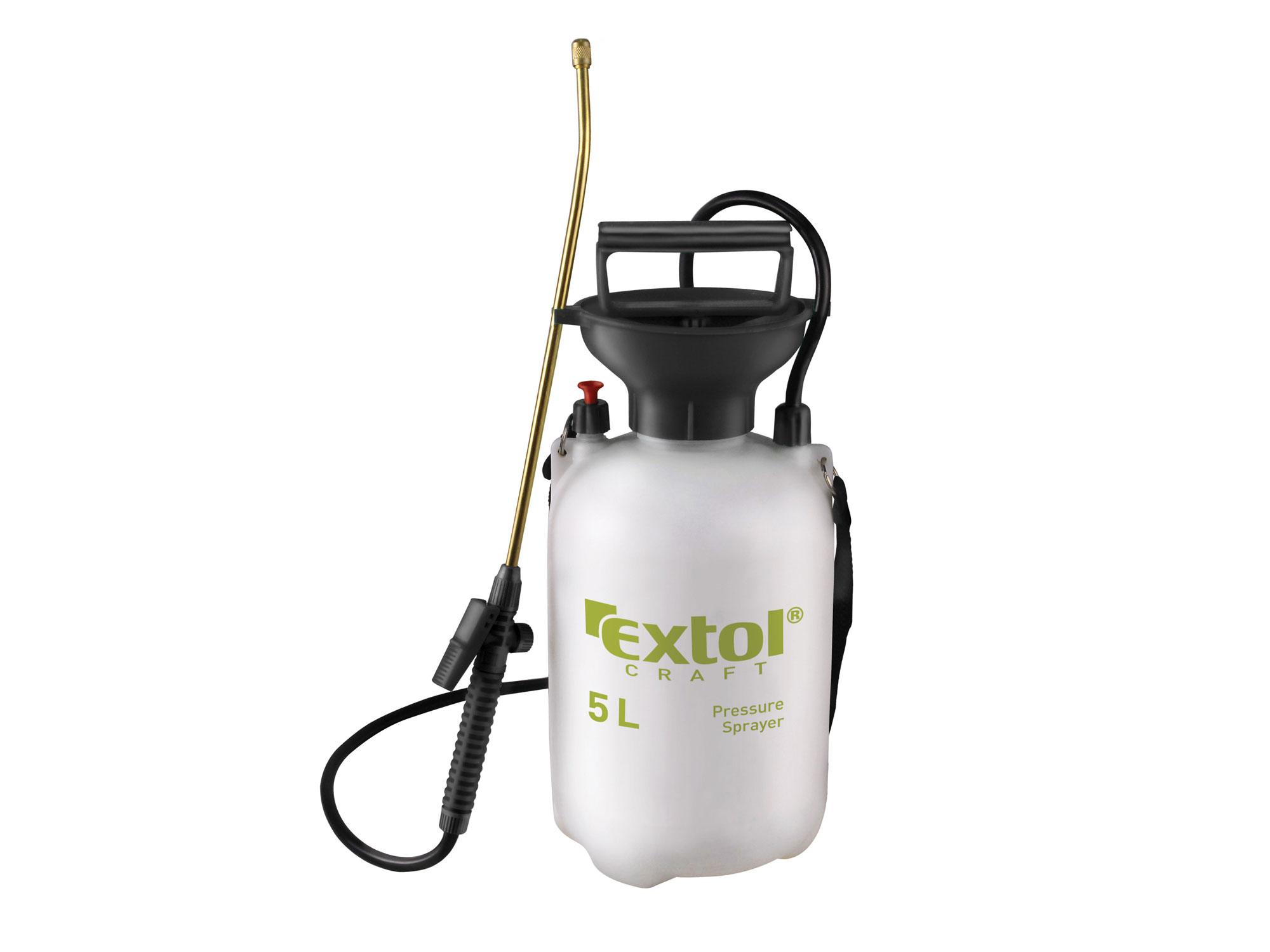 Postřikovač tlakový zahradní, 5l EXTOL CRAFT 92602