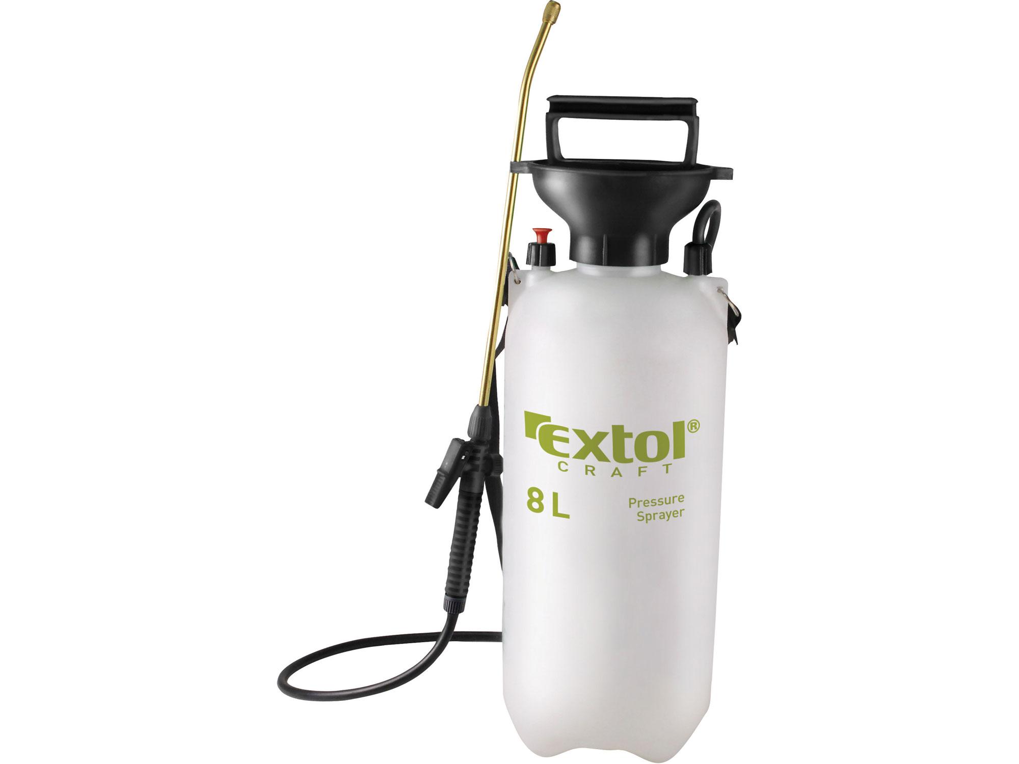 Postřikovač tlakový zahradní, 8l EXTOL CRAFT 92603