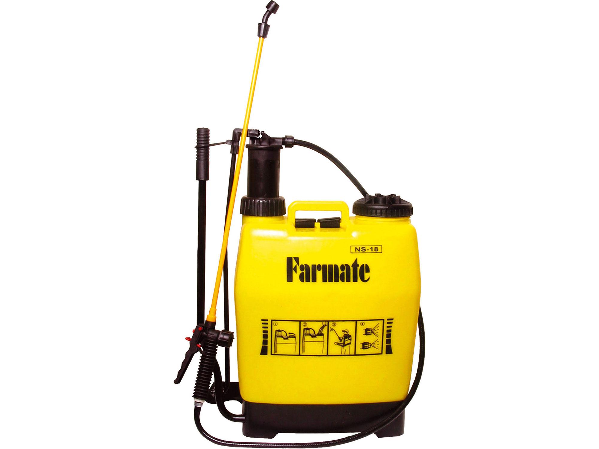 Postřikovač tlakový zahradní s průběžným pumpováním, 18l EXTOL CRAFT 92604
