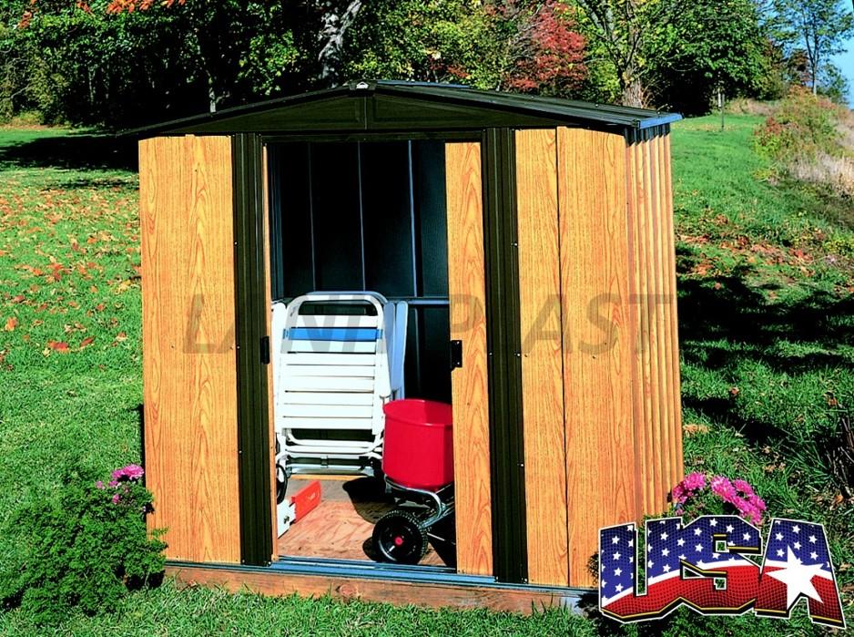 Kovový zahradní domek ARROW WOODLAKE 65 (2,66 m2)