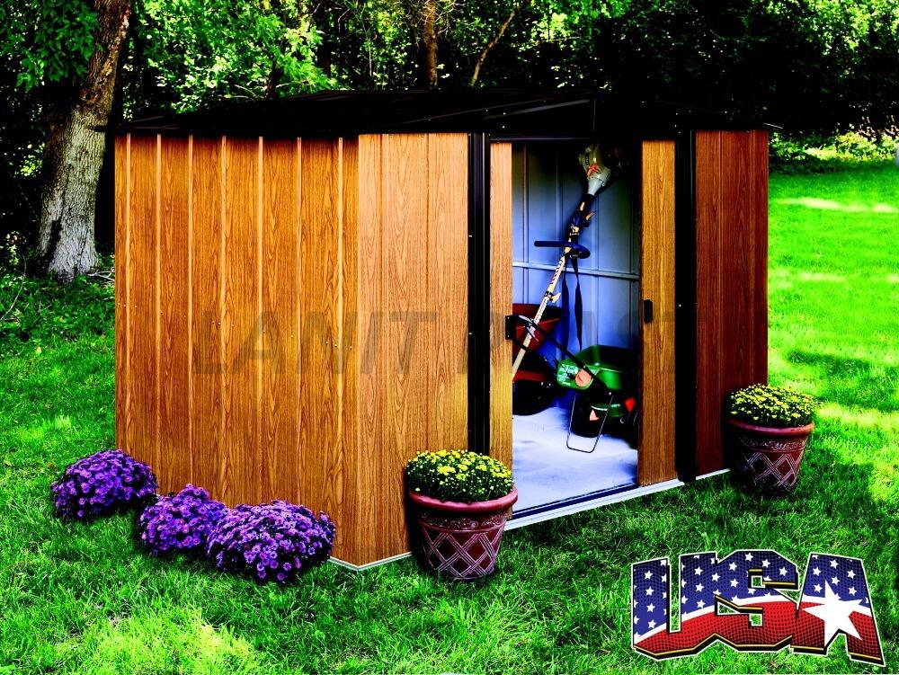 Kovový zahradní domek ARROW WOODLAKE 86 (4,26 m2)