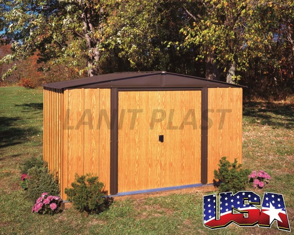 Kovový zahradní domek ARROW WOODLAKE 108 (7,14 m2)
