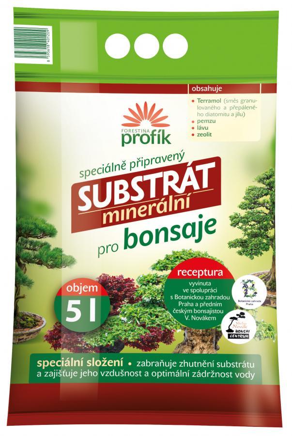 Speciální minerální substrát pro bonsaje FORESTINA PROFÍK 20 l