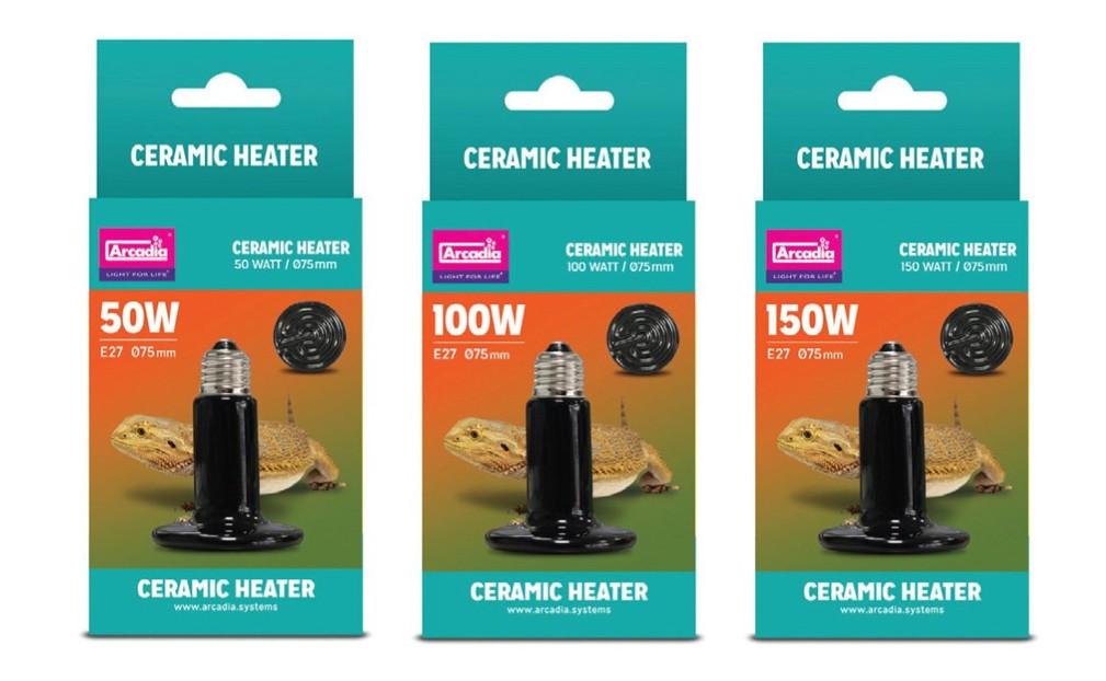 Arcadia Ceramic Heater 150W