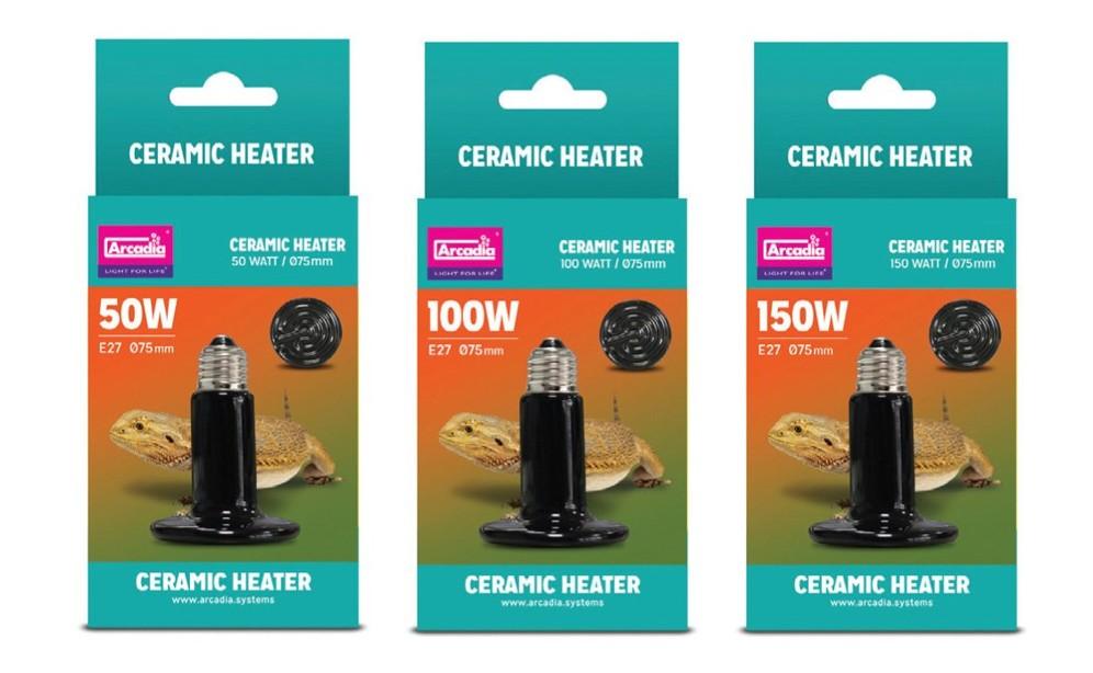 Arcadia Ceramic Heater 50W