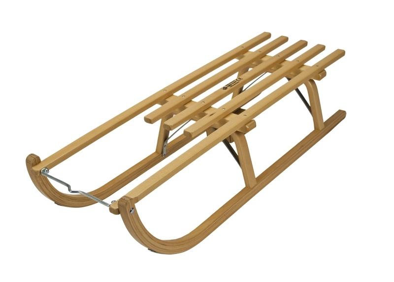 Sáňky dřevěné Davoser 100cm
