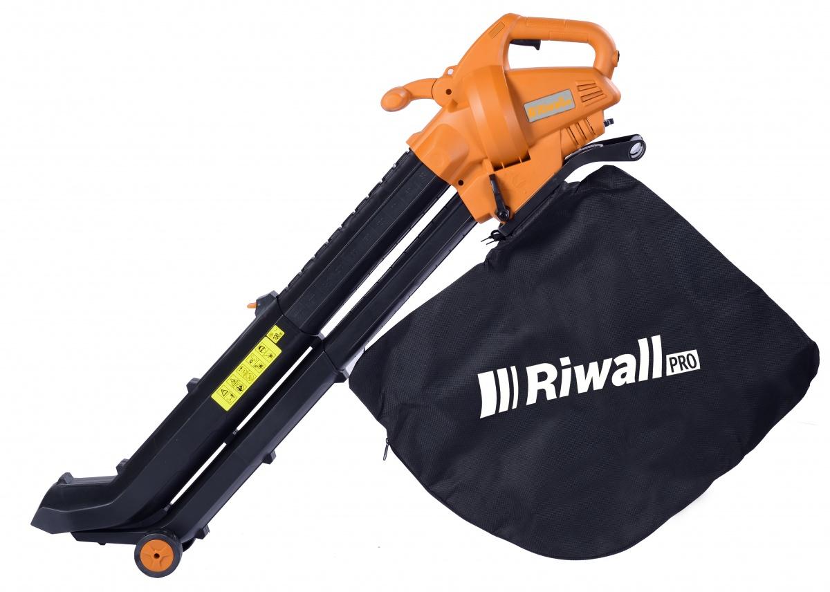 Elektrický vysavač/foukač REBV 3000 e RIWALL PRO