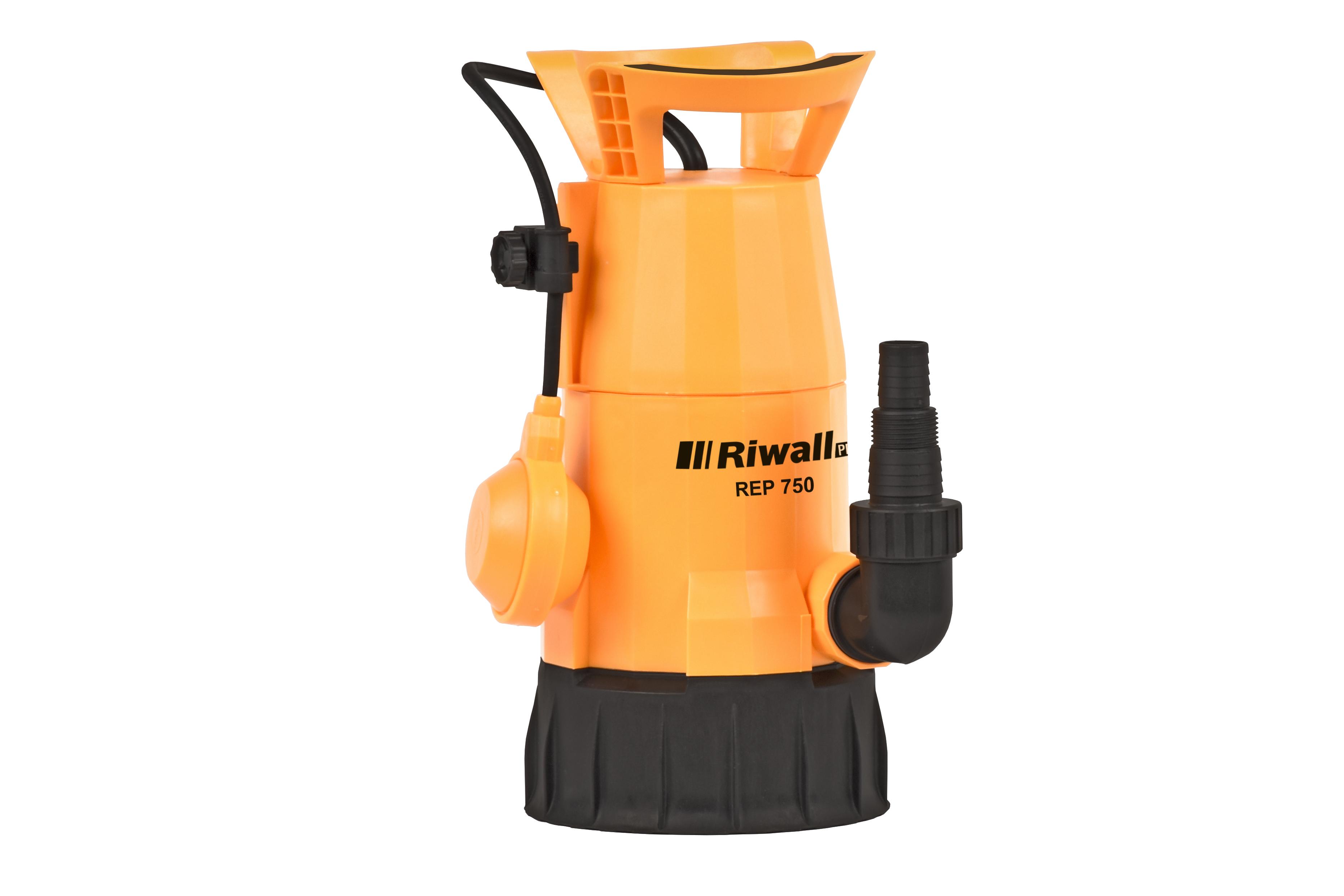 Univerzální ponorné kalové čerpadlo 750 W Riwall PRO REP 750