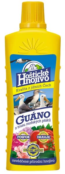 Hoštické guáno - tekuté 0,5l FORESTINA