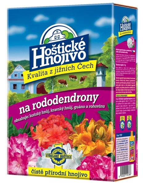 Hoštické hnojivo na rododendrony a azalky - čistě přírodní 1 kg FORESTINA