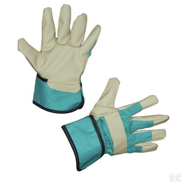 Dětské rukavice Junior zelené 4-6