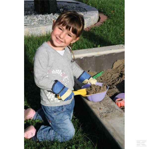 Dětské rukavice Junior modré 6-8