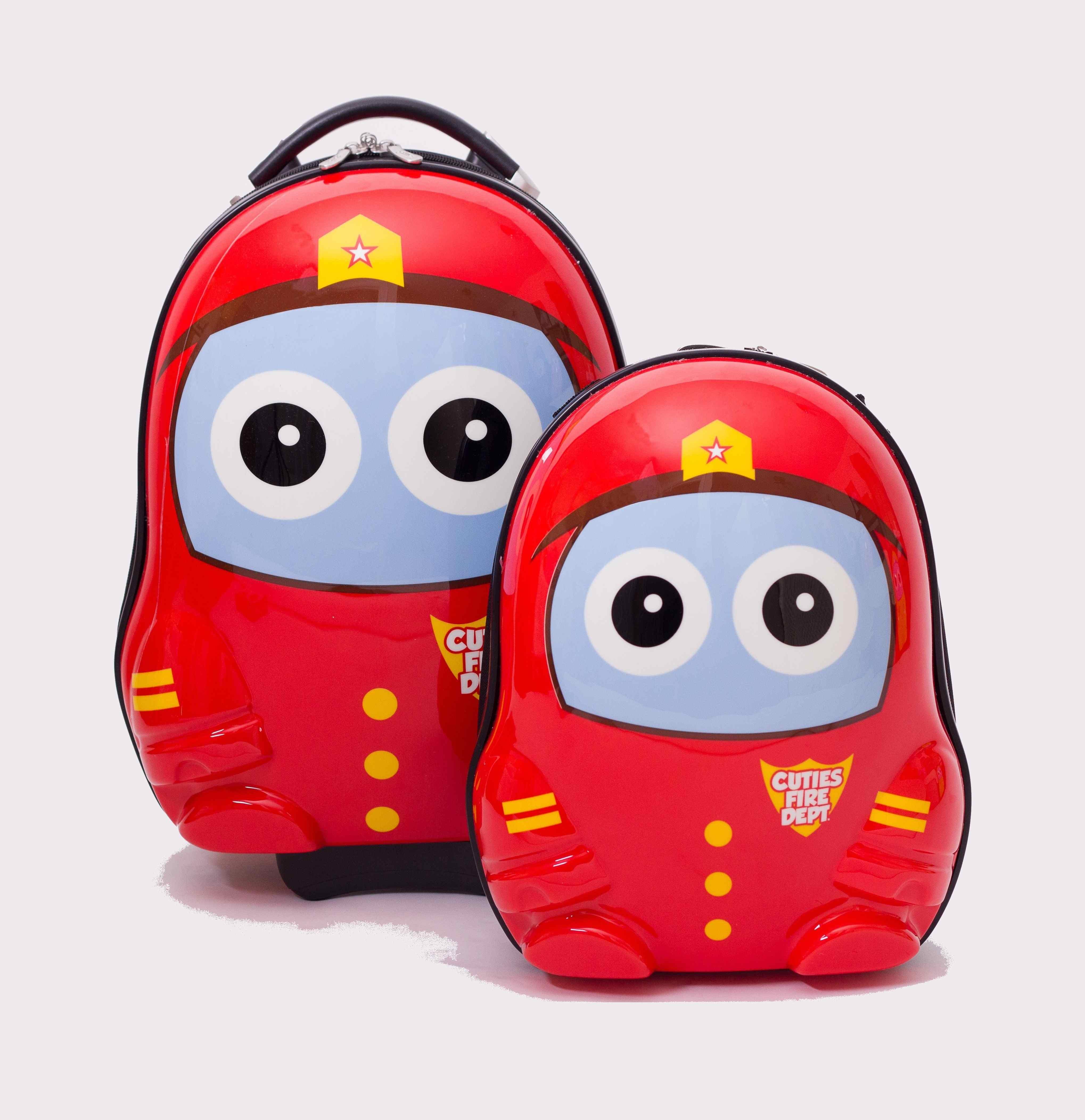 CUTIES and PALS dětský batoh a kufřík hasič