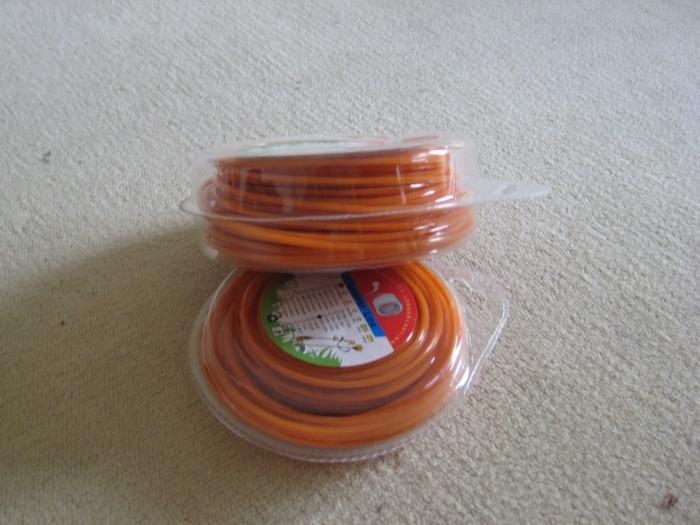 Žací struna 15m (2,4 mm) - čtvercová