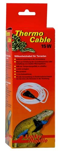 Lucky Reptile HEAT Thermo Cable 15W, délka 3m