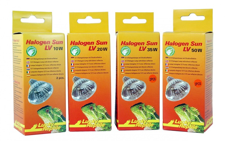 Lucky Reptile Halogen Sun LV 20W - Double Pack