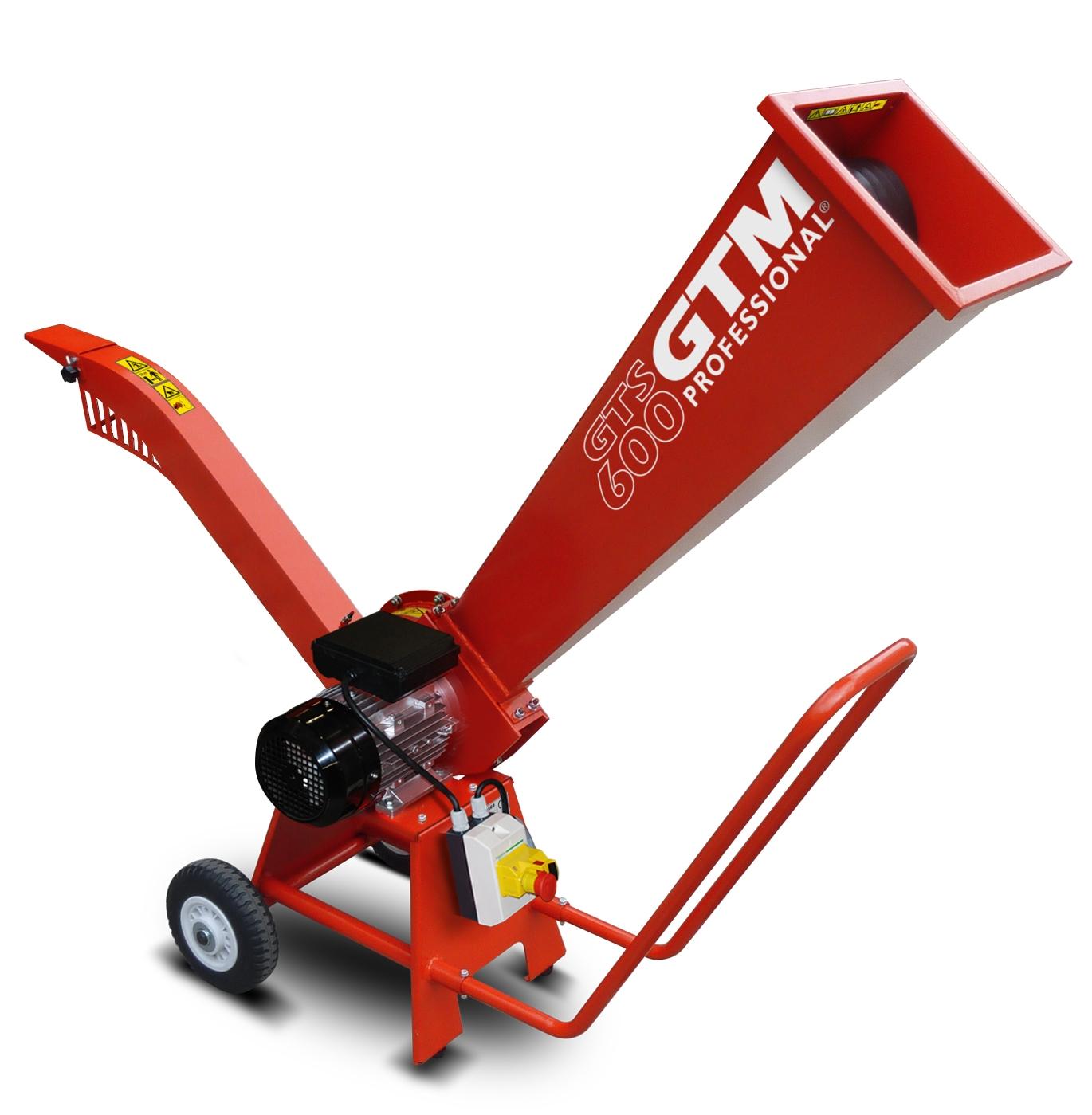 Drtič dřeva s elektrickým motorem GTM GTS 600 E