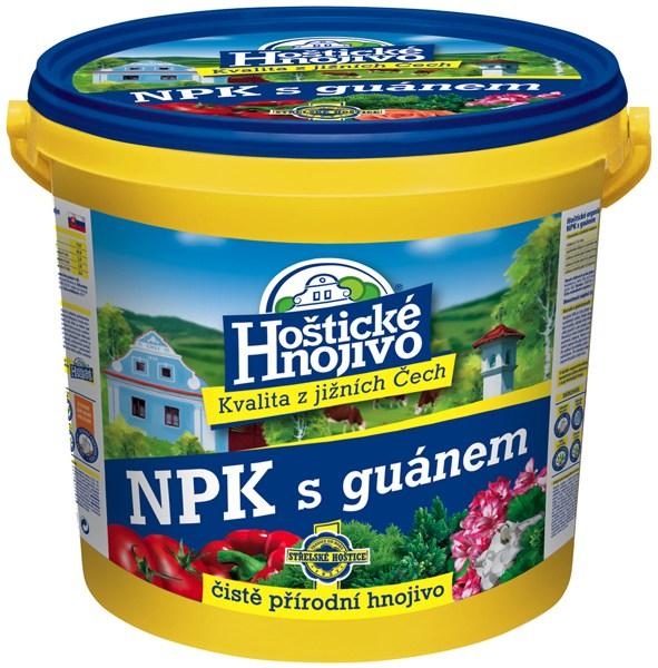 Hoštické NPK hnojivo s guánem - kbelík 8 kg FORESTINA