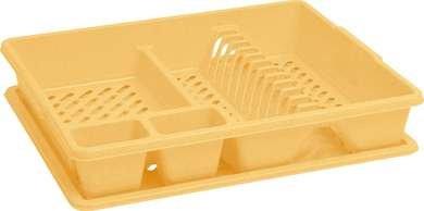 Curver odkapávač na nádobí, žlutý