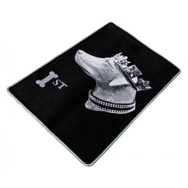PET REBELLION Ochranný potah do kufru, Stamp, černý 67x100cm