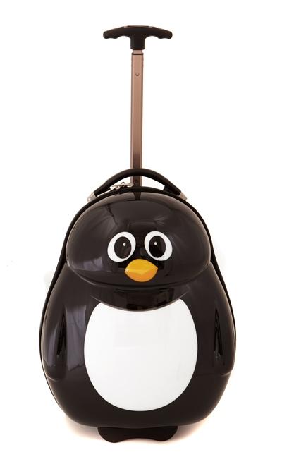 CUTIES and PALS dětský kufřík s kolečky tučňák