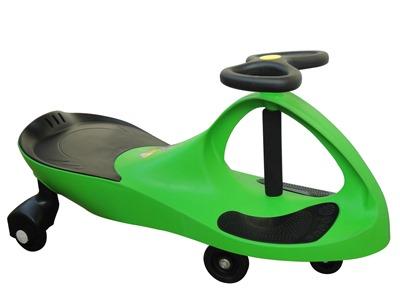 LUKLAND Dětské vozítko LUKICAR bez přilby zelené