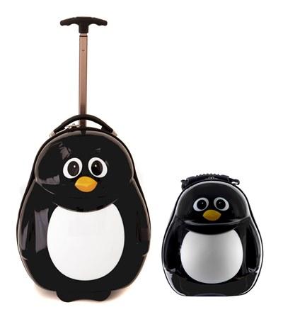 CUTIES and PALS dětský batoh a kufřík tučňák