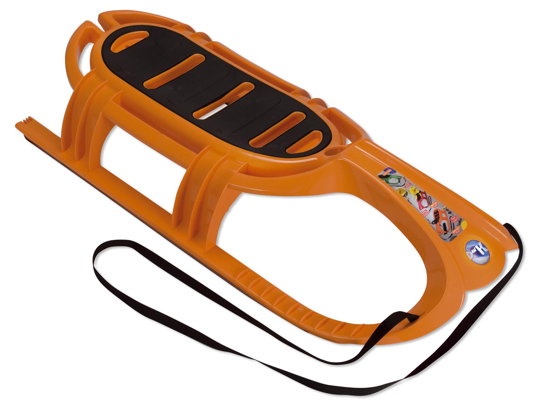 Sáňky KHW Snow Tiger oranžové