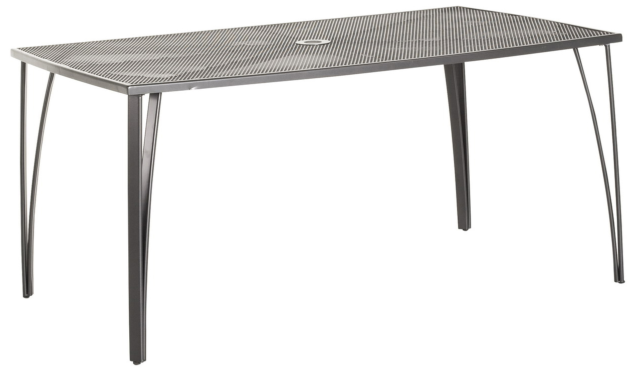 Obdélníkový stůl z tahokovu Garland Klasik 150