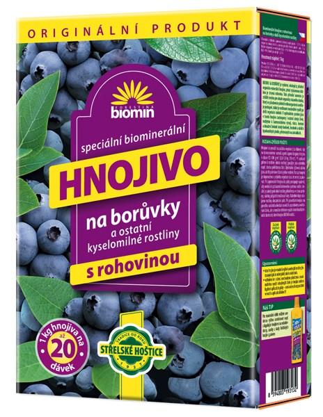 Hnojivo na borůvky 25 kg Forestina BIOMIN