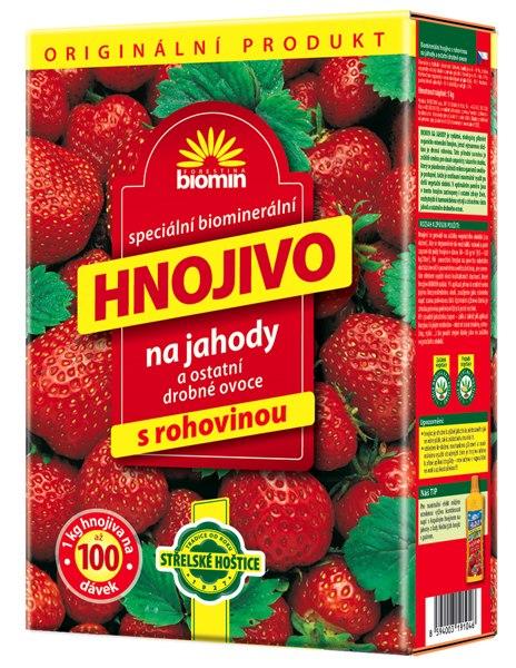 Hnojivo na jahody 1 kg Forestina BIOMIN