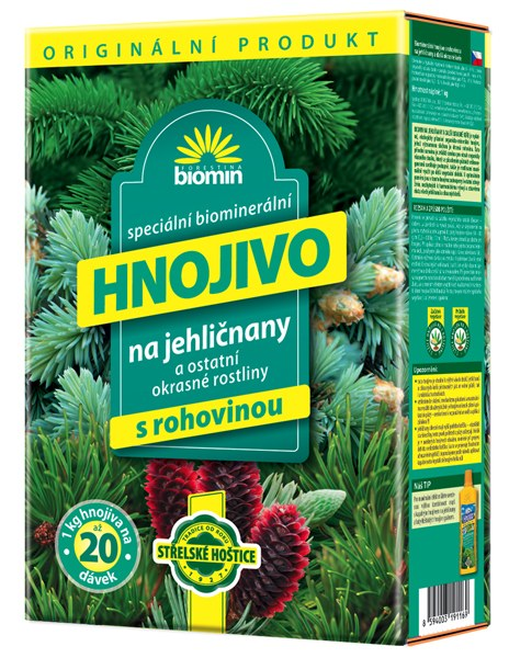 Hnojivo na jehličnany 25 kg Forestina BIOMIN