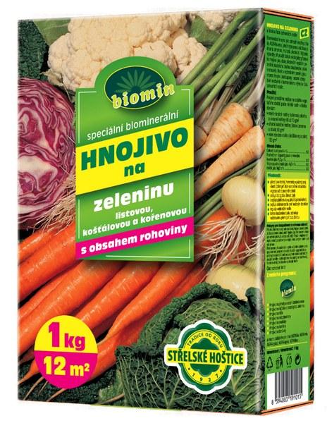 Hnojivo na zeleninu 1 kg Forestina BIOMIN