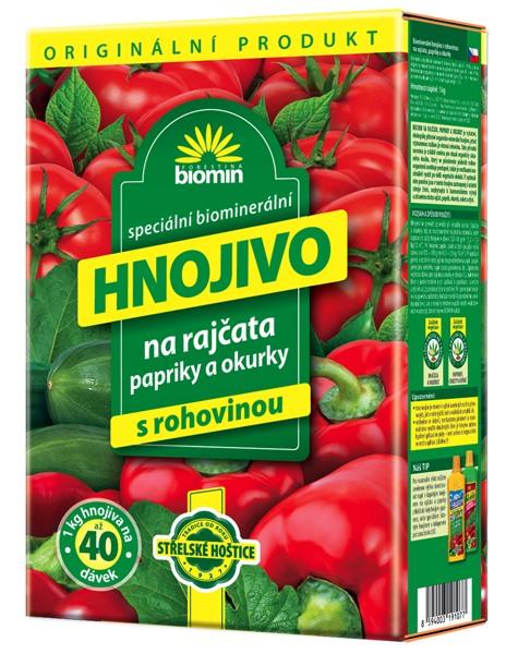 Hnojivo na rajčata 25 kg Forestina BIOMIN