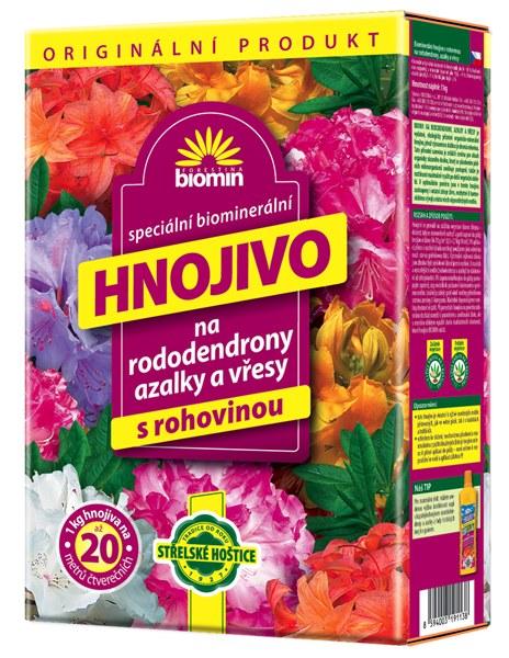 Hnojivo na rododendrony 25 kg Forestina BIOMIN