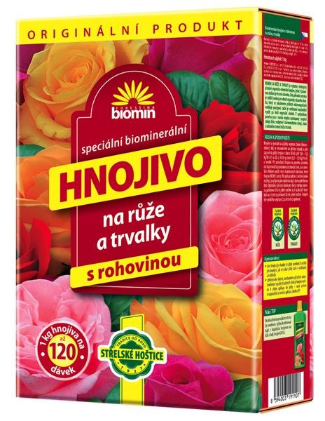 Hnojivo na růže 25 kg Forestina BIOMIN