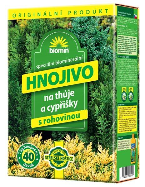 Hnojivo na thuje a cypřišky 1 kg Forestina BIOMIN