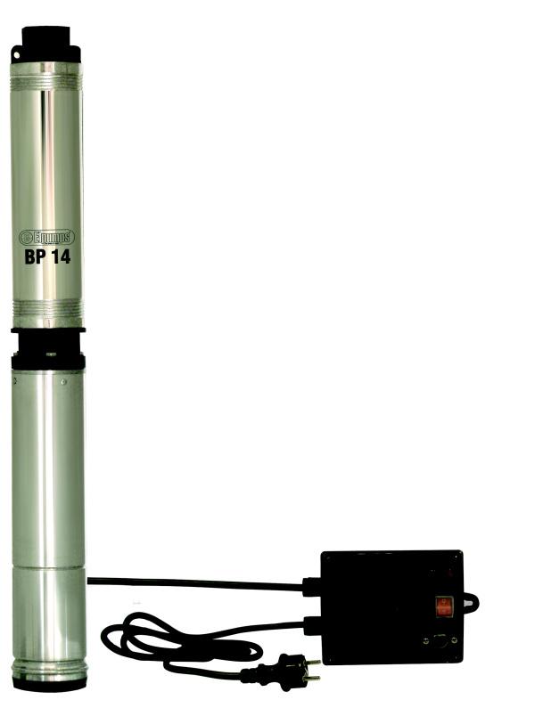 Hlubinné ponorné čerpadlo do studní a vrtů ELPUMPS BP 14