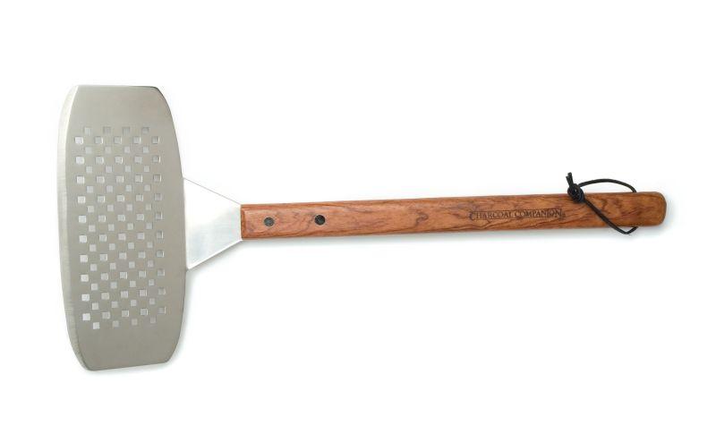 Obracečka na rybu s dřevěnou rukojetí Charcoal Companion