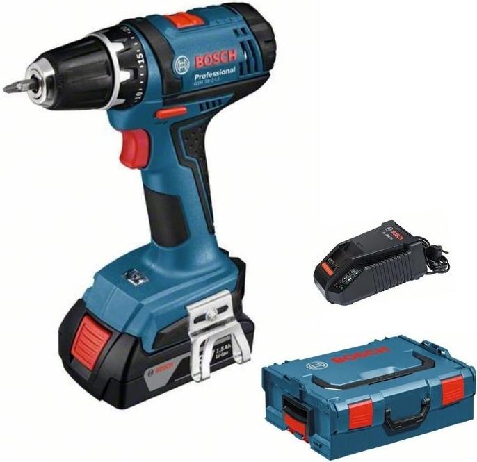 AKU vrtací šroubovák Bosch GSR 18-2 LI Professional Plus (0.615.9E6.100)
