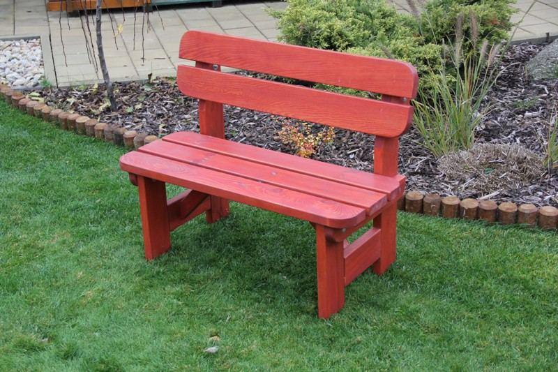 Zahradní dřevěná lavice DĚTSKÁ SESTAVA bez povrchové úpravy
